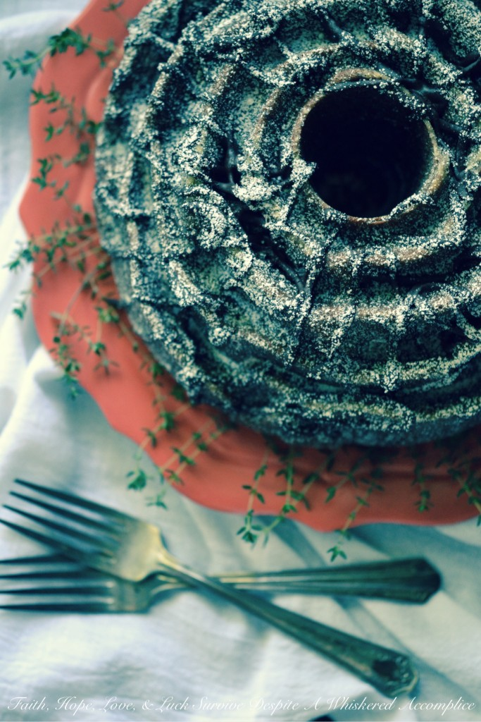 Chocolate Rose Bundt Cake