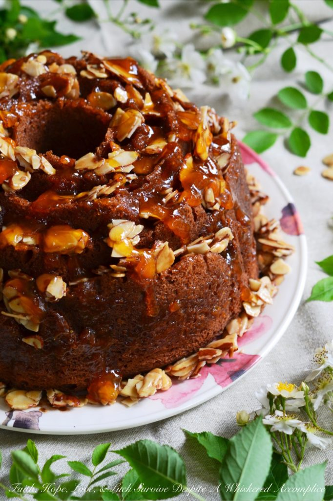 Honey Almond, Apricot, and Cream Cheese Filled Breakfast Cake - # ...